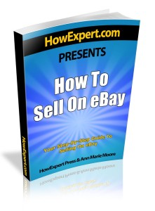 Book on How to Sell on Ebay